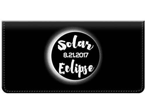 Total Solar Eclipse August 21 2017 Checkbook Cover