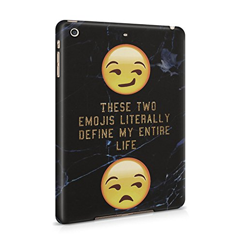These Two Emojis Literally Define My Entire Life Plastic Tablet Snap On Back Cover Shell For iPad Mini 2 & iPad Mini 3