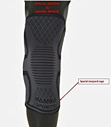Sports Knee Sleeve Compression Support | Perfect Running Gear | Arthritis, Tendonitis, & Bursitis Relief | Quick Recovery | Joint Pain, Knee Pain Relief | Reduce Pain & Swelling (Single) (XL B)