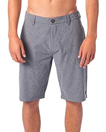 "Rip Curl Men's Phase 21"" Boardwalk, Dark Grey, 28"