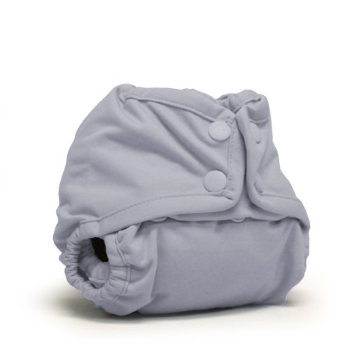 (Rumparooz Newborn Cloth Diaper Cover Snap, Platinum )
