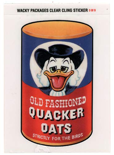 Wacky Quacker - Quacker Oats - Wacky Packages All-New