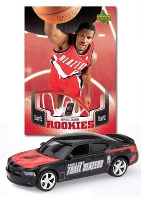 Portland Trial Blazers Dodge Charger & Greg Oden Card ()