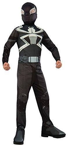 Boys Halloween Costume-Agent Venom Kids Costume Large - Agent Venom Costume