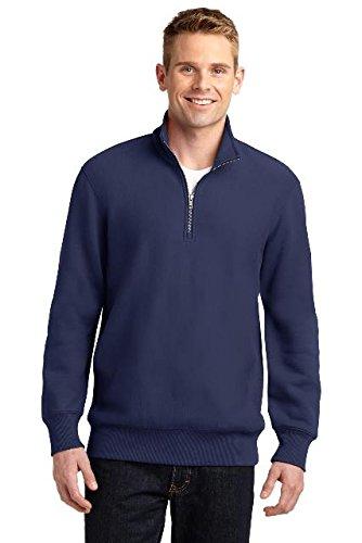 Heavyweight 1/4 Zip Sweatshirt - 1