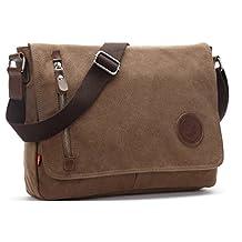 Magictodoor Canvas Shoulder Sling Bag Rucksack School Chest Pack Crossbody Bag Vintage 8501kafei.ca