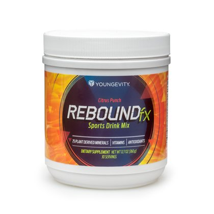 REBOUND FX CITRUS PUNCH Sports Drink Powder - 360gm - 2 Pack by Youngevity