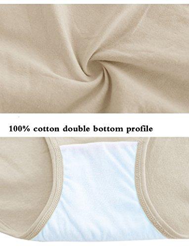 Algodón Whisper Pack de 4Mujer Bajo El Bump Maternidad Bikini Multicolor