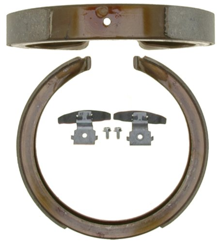 ACDelco 17781B Professional Bonded Rear Drum In-Hat Parking Brake Shoe ()