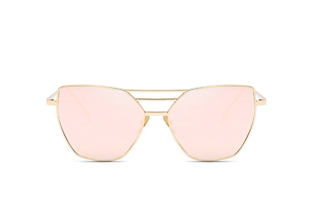Venusvi 2017 Fashion Women's Sunglasses Polarized (Champagne)
