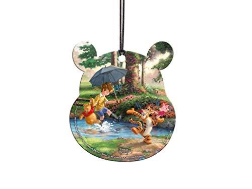 (Trend Setters Winnie The Pooh – Pooh Head Shaped Acrylic Collectible – Thomas Kinkade Studios)