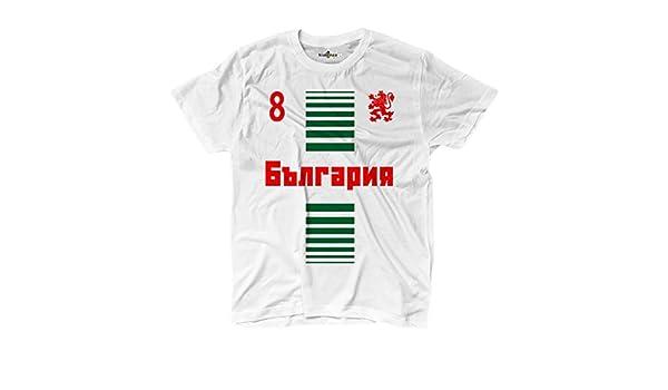 KiarenzaFD Camiseta T-Shirt Hombre Nacional Deporte Balgarija ...