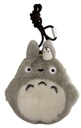 Studio Ghibli My Neighbor Totoro Gamaguchi Fluffy Cell Phone Pouch by Sanyu