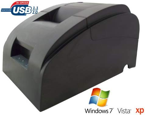 Allcam POS58 USB impresora térmica de recibos, 58mm, ideal para Retail Shop ePOS POS