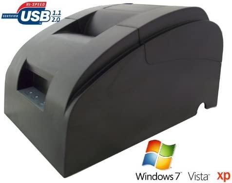 Allcam POS58 USB impresora térmica de recibos, 58mm, ideal para Retail Shop ePOS POS