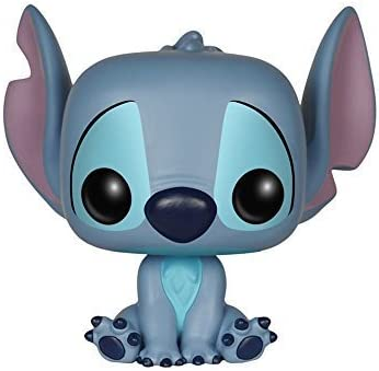 Funko POP Disney 3 3/4 Inch Lilo & Stitch - Stitch Seated Action Figure Dolls Toys by Funko POP Toys