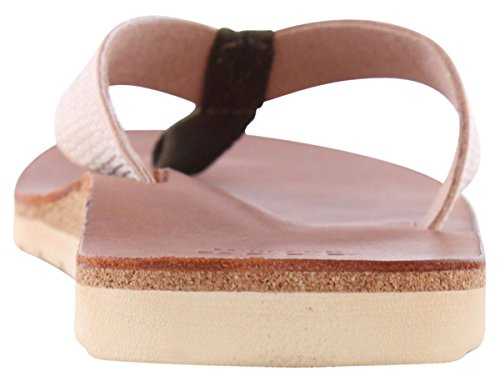 Reef Voyage Slap Dark Brown/Nude