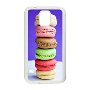 Stylish Macarons Design Plastic Case for Samsung Galaxy S5
