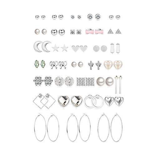 10 best silver stud earrings for women hypoallergenic for 2020