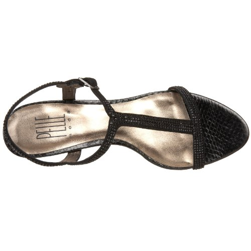free shipping choice Pelle Moda Women's Fact Sandal Black Kid outlet perfect outlet the cheapest RXgRr7ViV