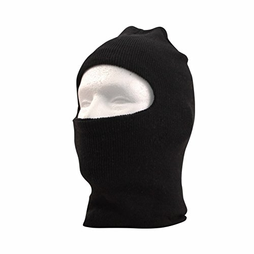 Balaclava Ski Mask - 1 hole Full Face Windproof Winter Hood for Cycling Motorcycle Outdoor Sports Skiing Snowmobile (Sexy Robber)