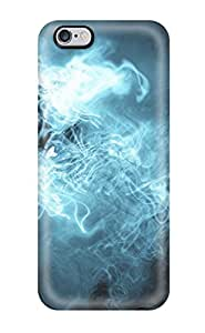 For Iphone 6 Plus Tpu Phone Case Cover(blue Abstract) by lolosakes