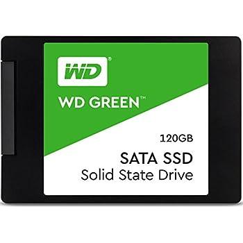 "Western Digital 120GB Green 2.5"" Internal Solid State Drive SATA Model WDS120G2G0A"