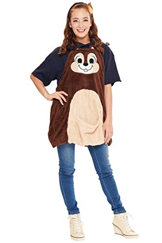 Disney Chip and Dale Costume - Chip Overalls  for Women - Standard Size -