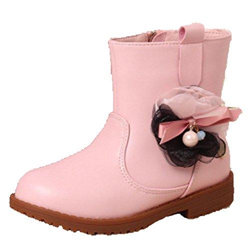 Ohmais Kinder Mädchen flach Freizeit Sandalen Sandaletten Kleinkinder Mädchen Kinderschuhe Stiefeletten CRBAPmiG1r