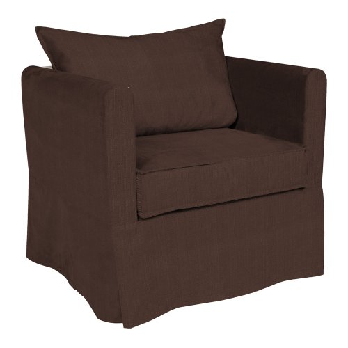 Howard Elliott C138-202 Alexandria Chair Cover, Sterling -