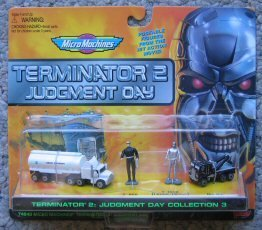 Micro Machines Terminator 2 Judgement Day Collection #3