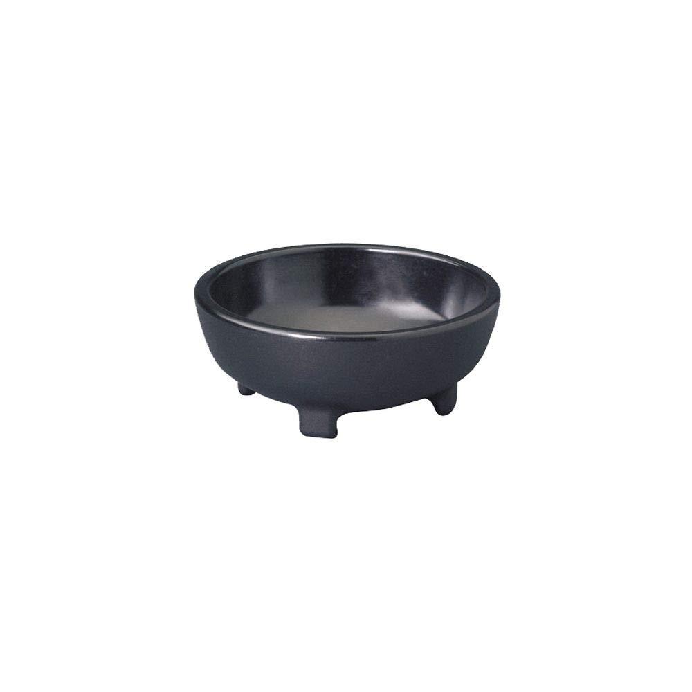 Gessner 358 Black 8 Ounce Molcajete Bowl - 48 / CS