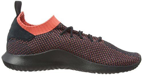 adidas Men's Tubular Shadow Primeknit Trainers, Black White (Footwear White/Footwear White/Noble Indigo 0)