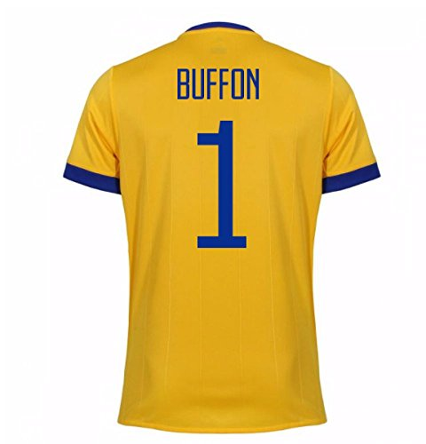 放置マニアック位置する2017-2018 Juventus Away Shirt (Buffon 1) - Kids