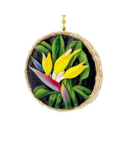 Tiki Tropical Bird of Paradise Decor
