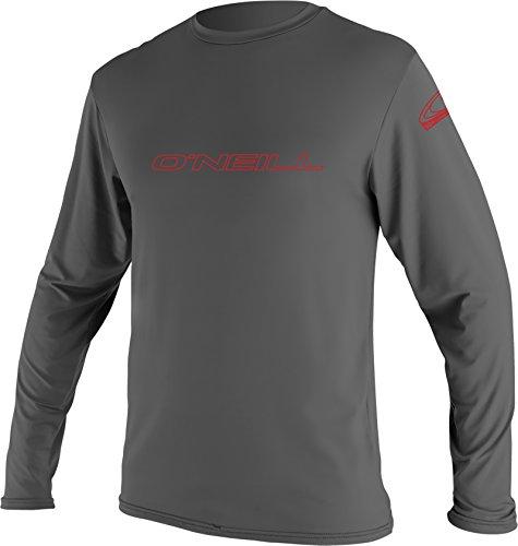 O'Neill Wetsuits UV Sun Protection Youth Basic Long Sleeve Sun Shirt Rash Guard Tee