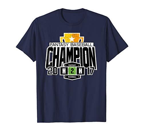 (2017 H2H Fantasy Baseball Champion T-Shirt)