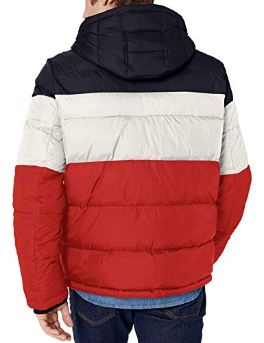 Tommy Hilfiger men's Classic Hooded Puffer Jacket (Standard and Big & Tall)