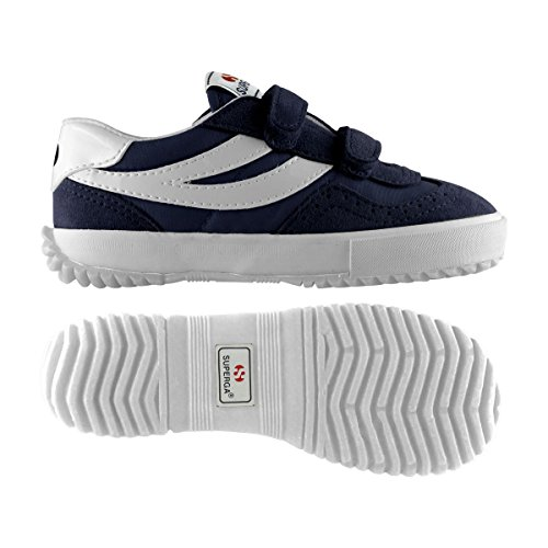 Sneakers - 2832-nylvj - Bambini Blue-white