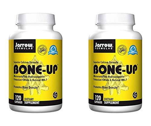 Jarrow Formulas Bone-Up - Superior Skeletal Support for Bone Density and Cardiovascular Health 120 Capsules (Pack of 2 - Total 240 Capsules)