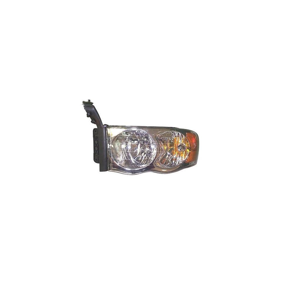 02 03 DODGE RAM PICKUP (NEW STYLE) Left Headlight (2002 02 2003 03) 55077121AC Headlamp Head Light Lamp LH