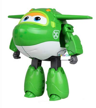 Grocoto Action & Toy Figures - cm Big Size Super Wings Jett Donnie Dizzy Jerome Jimbo Paul 9 Style Deformation Toys Brinquedos Birthday Gift for Children 1 PCs