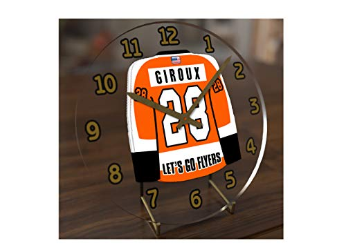 FanPlastic N H L Hockey Jersey Themed Clock - All Metropolitan Division Team Colours - Our Very OWN