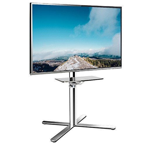 Fleximounts C01 Tv Cart Lcd Stand For 32 60 Led Plasma Flat Panel Screen Up  To