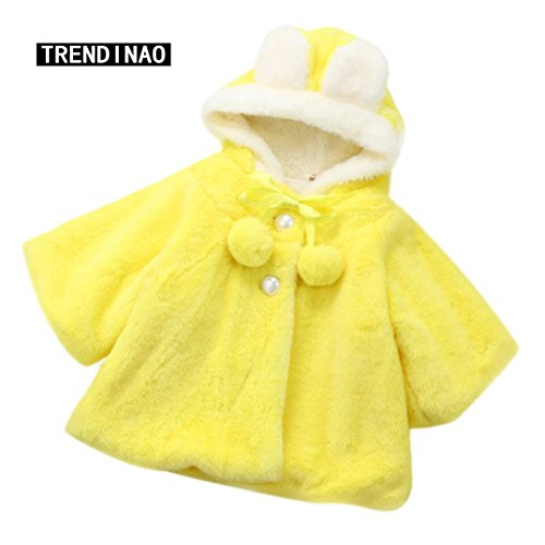 Eclipse Cup Pull (TRENDINAO Baby Infant Girls Hooded Coat Outwear Winter Warm Cloak Thick Warm Clothes)