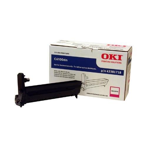 - Okidata C5550 MFP, C6100, C6150, MC560 MFP Series Magenta Image Drum (20,000 Yield), Part Number 43381718