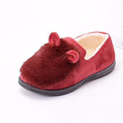 Chaussures Mois 7 D Couleur Coton Sac ZZHF Femme