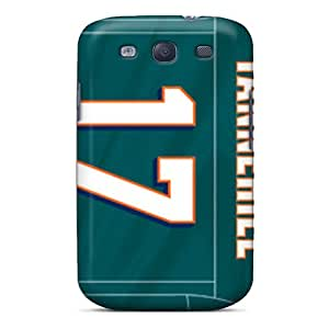 Top Quality Rugged Miami Dolphins Case Cover For Galaxy S3