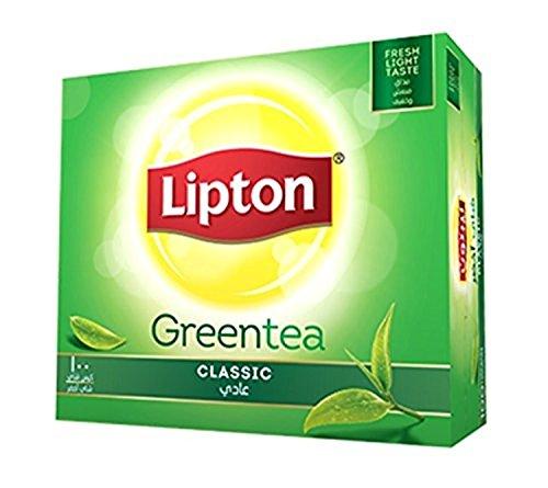 Lipton Green Tea Classic – 100 Tea Bags – 150 Grams (100 * 1.5Grams)