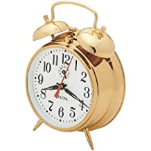 Bulova B8124 Bellman Clock, Brass Finish